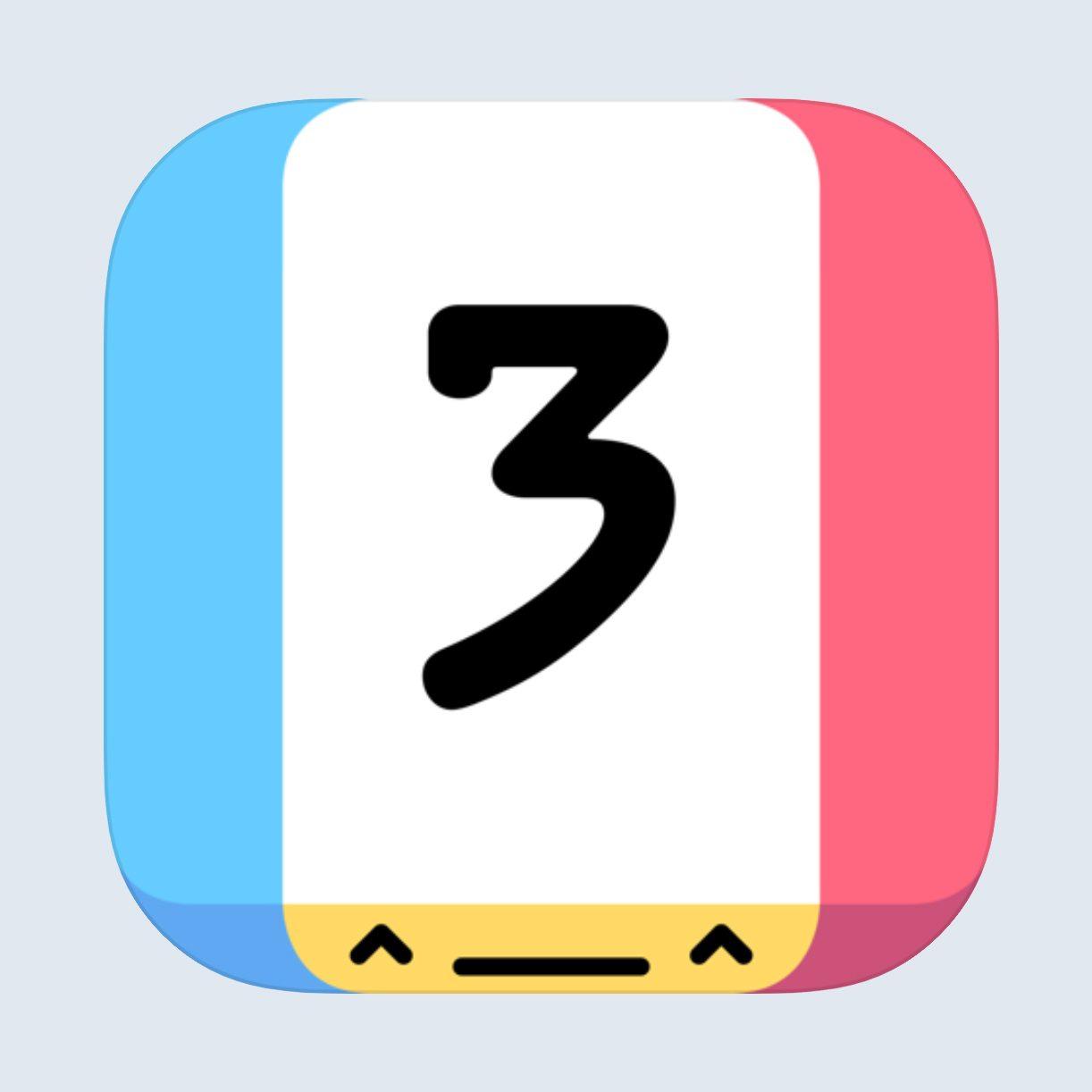 threes app