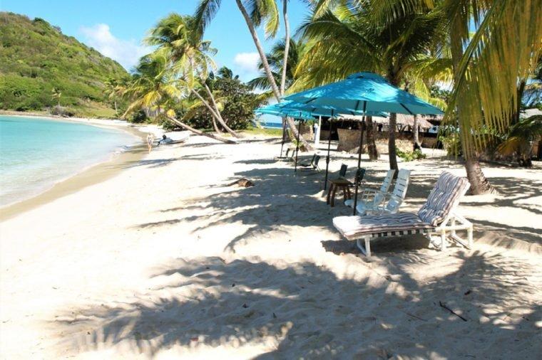 Mayreau, Salt Whistle Bay, St. Vincent and the Grenadines