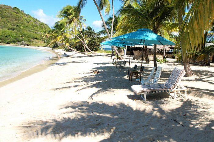 Mayreau, Salt Whistle Bay, St. Vincent and the Grenadines