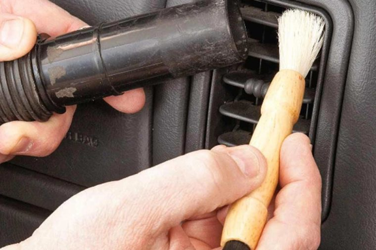 Family Handyman Brushing Inside