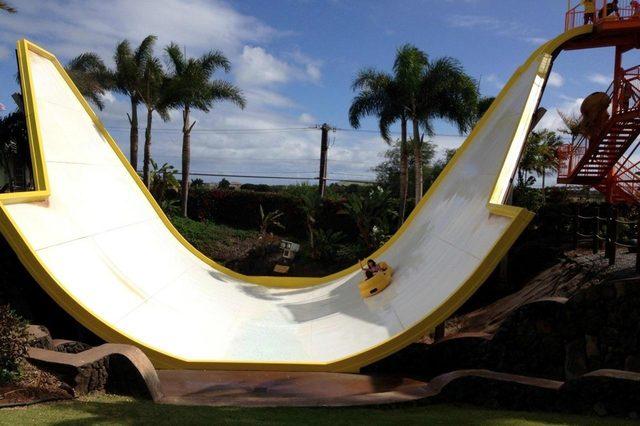 shaka water slide