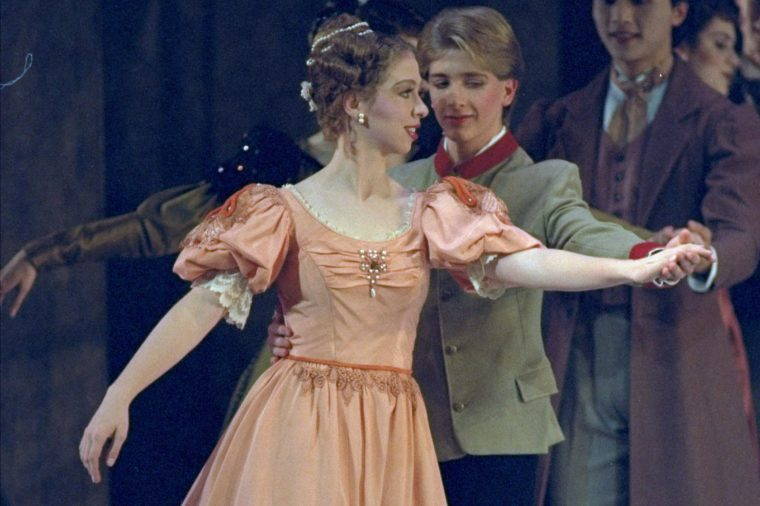 """Chelsea Clinton Chelsea Clinton, 13, daughter of President Clinton, rehearses for her upcoming performance in Washington Ballet's holiday production of """"Nutcracker"""" in Washington"""