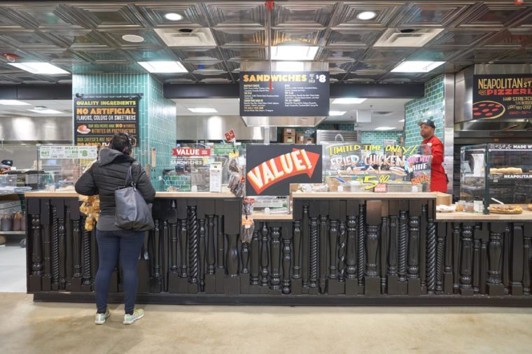 CHICAGO, IL - CIRCA MARCH, 2016: inside of Whole Foods Market. Whole Foods Market Inc. is an American supermarket chain.