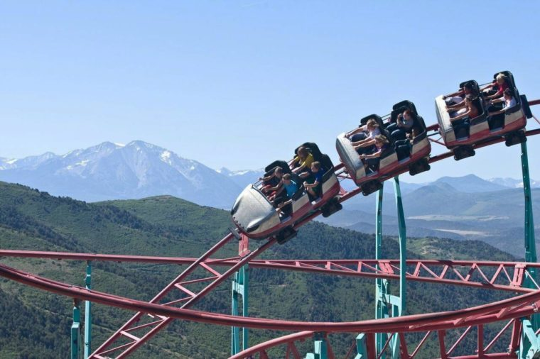 Colorado: Cliffhanger Roller Coaster