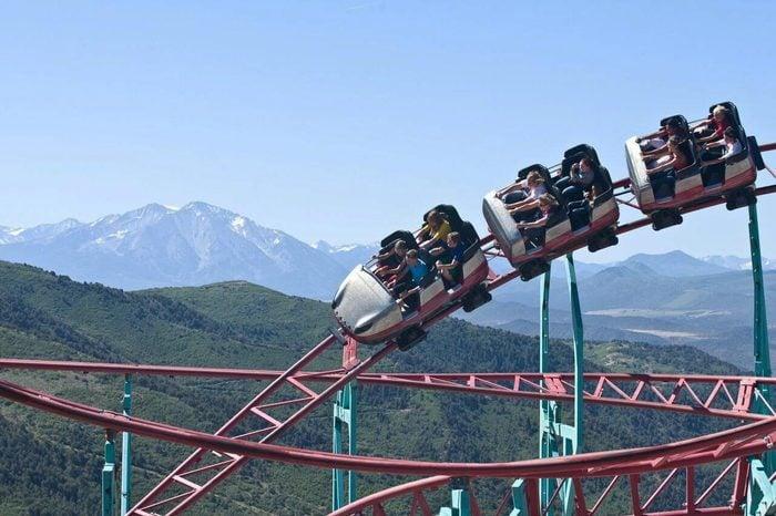 Colorado: Cliffhanger Roller Coaster