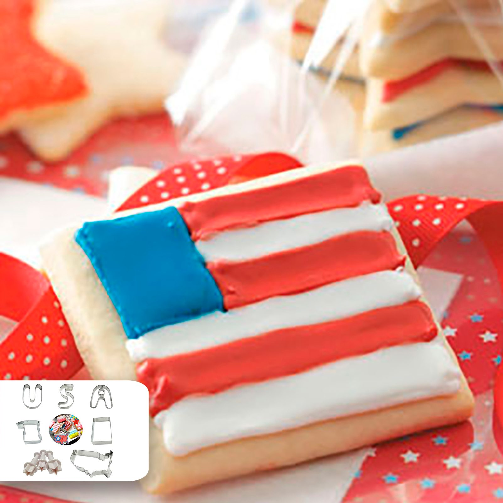 cookie cutter america 4th of july Taste of Home