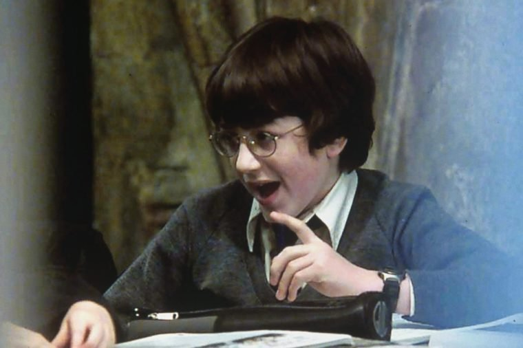 DANIEL RADCLIFFE FILMING OF 'HARRY POTTER AND THE SORCERER'S STONE', BRITAIN - 05/02/01