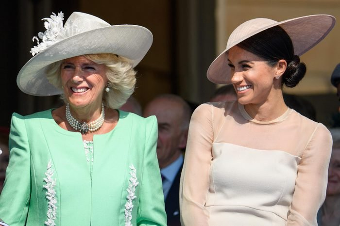 Prince Charles, Camilla Duchess of Cornwall and Meghan Duchess of Sussex