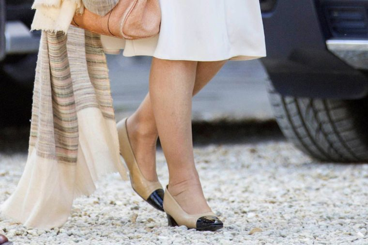Camilla Duchess of Cornwall shoes