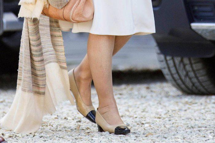Camilla Duchess of Cornwall shoes