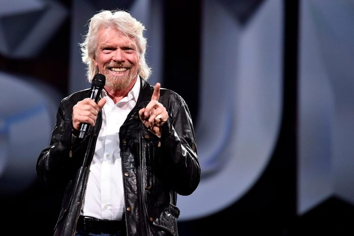 """Entrepreneur Sir Richard Branson calls United States short holiday system """"cruel,"""" urging businesses to offer more than three weeks paid vacation during Adobe Summit at the Venetian, in Las Vegas"""