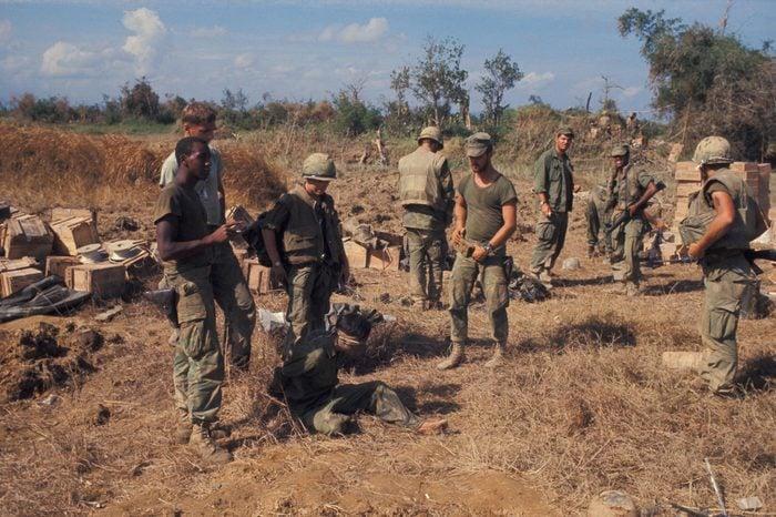 Vietnam War 1968 69, American Troops In Action