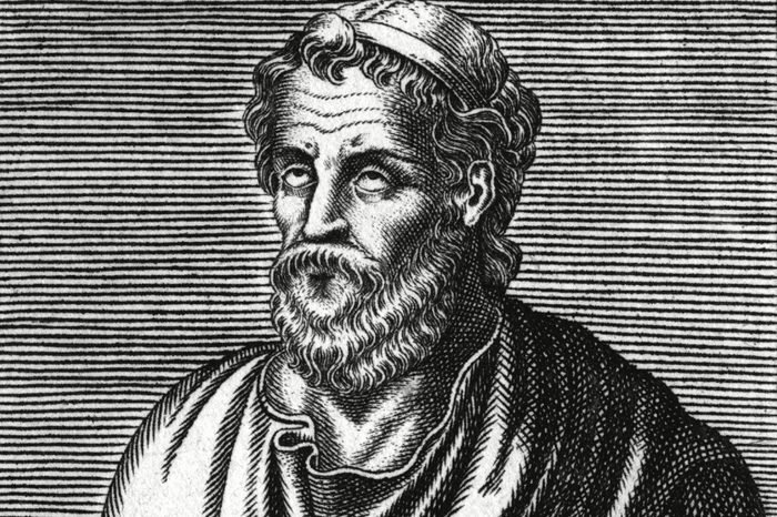 Homer Blind Greek Poet 9th - 8th Century BC