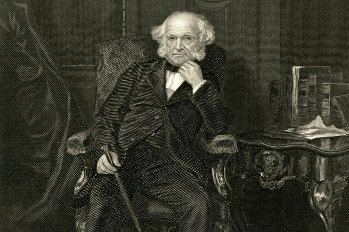 Martin Van Buren Eighth President of the United States 1782 - 1862
