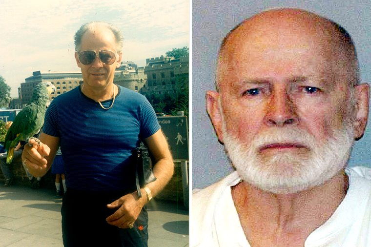 Whitey Bulger on holiday in London, Britain