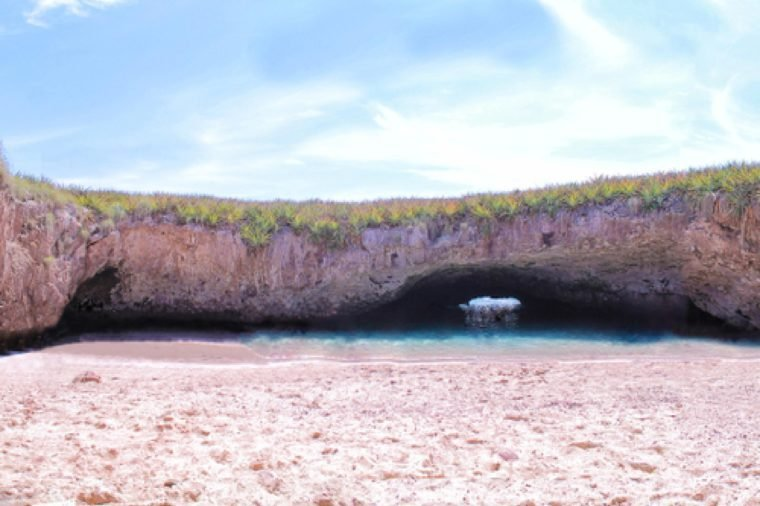 Hidden Beach in Puerto Vallarta Mexico