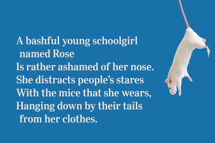 Rose's nose limerick
