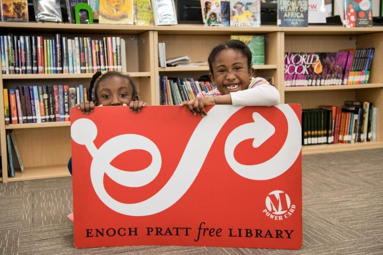 Nicest places - Enoch Pratt Free Library in Baltimore, Maryland