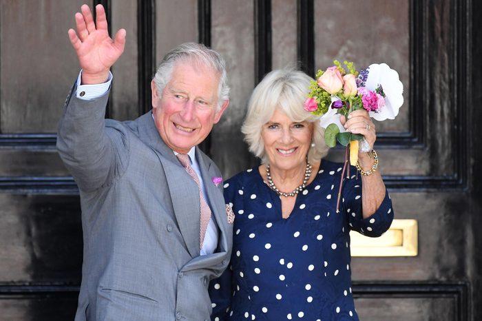 Prince Charles and Camilla Duchess of Cornwall visit to Salisbury, UK - 22 Jun 2018