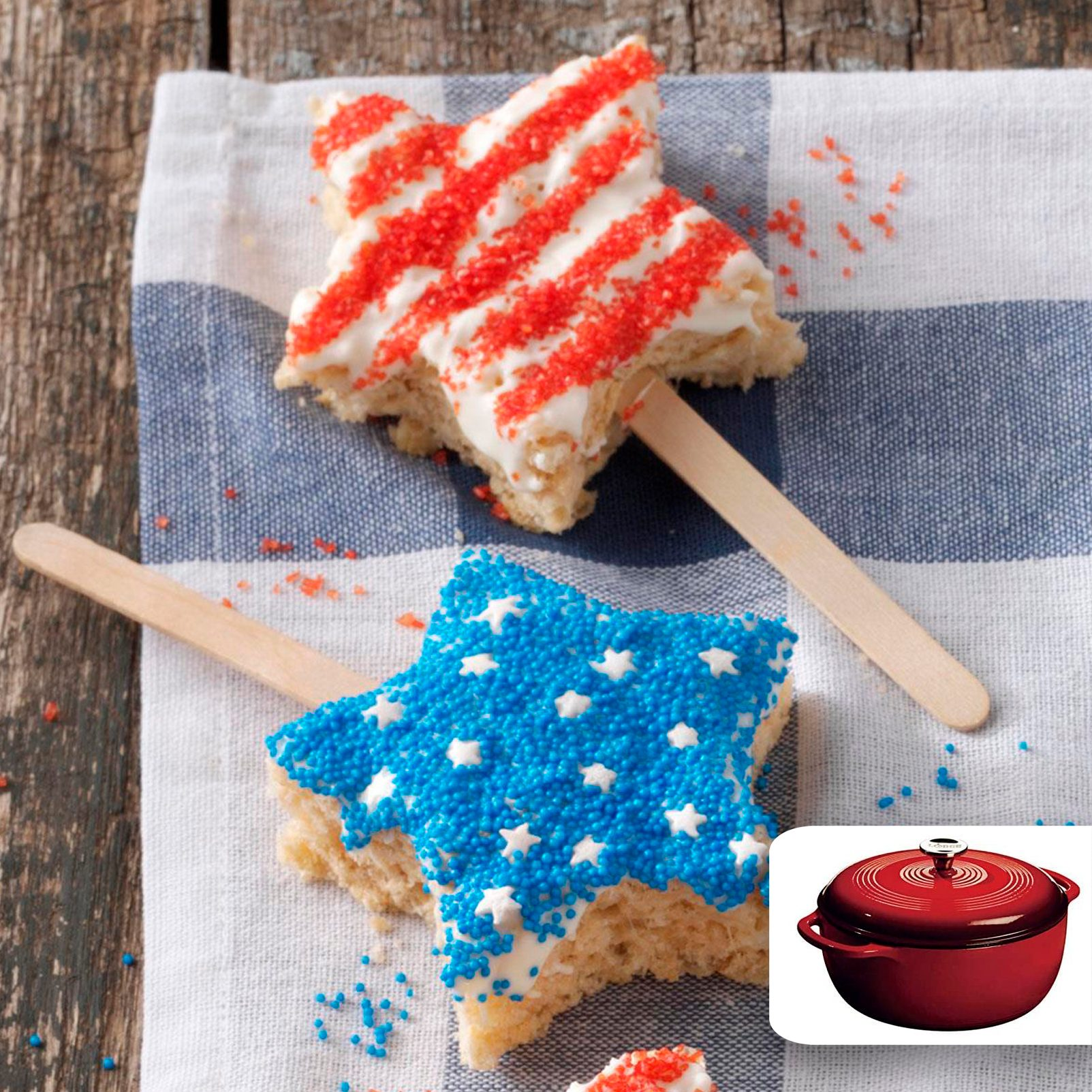 rice krispies 4th of july