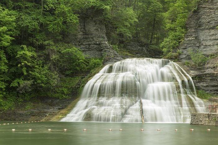 Waterfalls at Robert H. Treman State Park