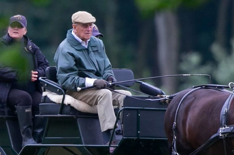 Prince Philip returns to Carriage Driving at Windsor Castle.