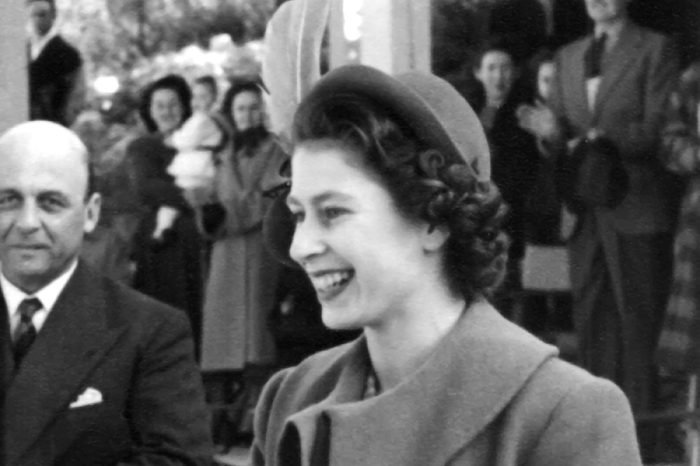 A young Queen Elizabeth II when she lived in Malta between 1947 and 1951