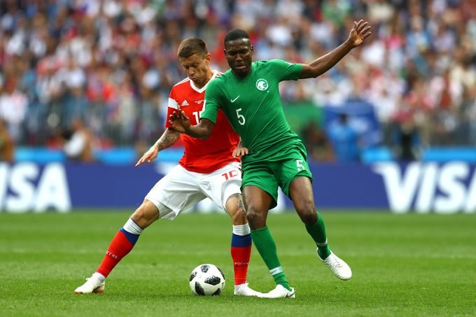 Russia v Saudi Arabia, Group A, 2018 FIFA World Cup football match, Luzhniki Stadium, Moscow, Russia - 14 Jun 2018