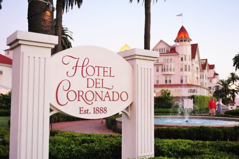 San Diego, USA - on August 01st, 2013:The historic Hotel del Coronado,San Diego, California,USA.