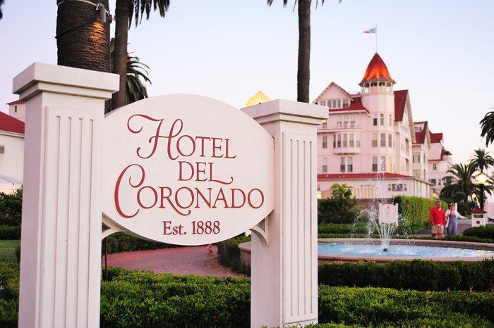 San Diego, USA - on August 01st, 2013:The historic Hotel del Coronado,San Diego, California,USA.