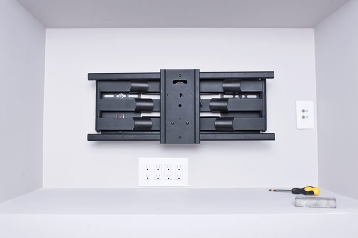 Ultra slim TV wall mount with super strong weight capacity
