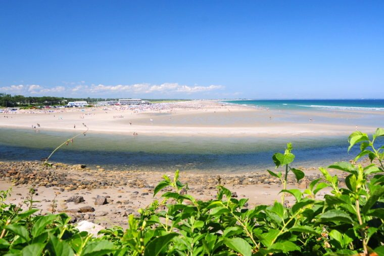 Ogunquit beach, Maine, USA