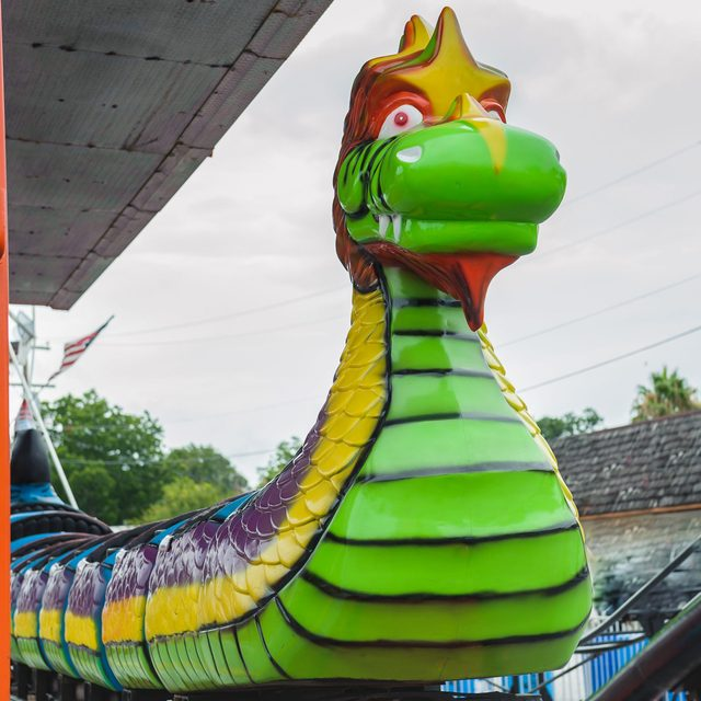The Dragon Wagon roller