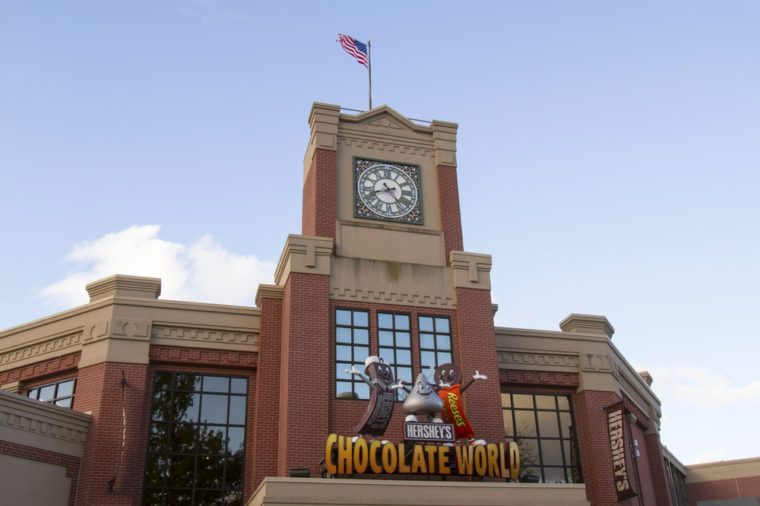 chocolate world hersheypark