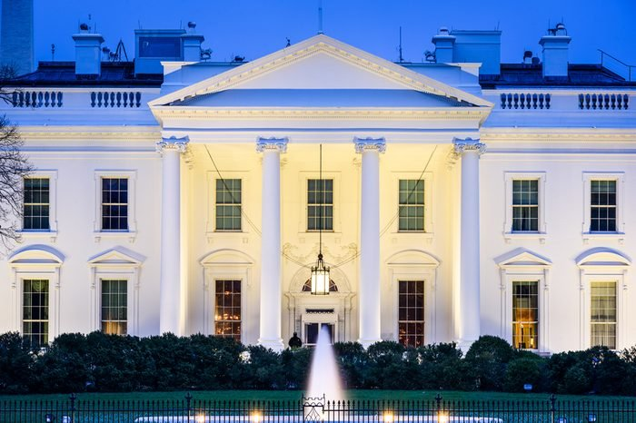 Washington, DC at the White House.
