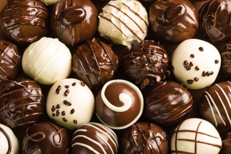 Chocolate, Chocolate Candy, Truffle.