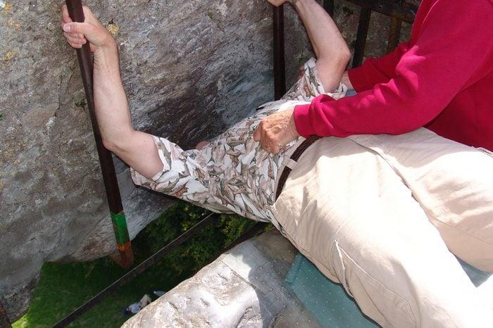 Kissing the Blarney Stone, Ireland