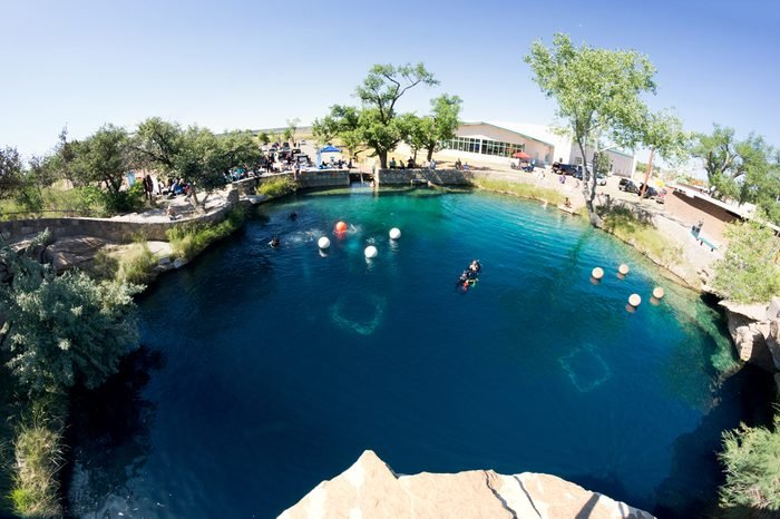 Blue Hole on Route 66 in Santa Rosa, NM