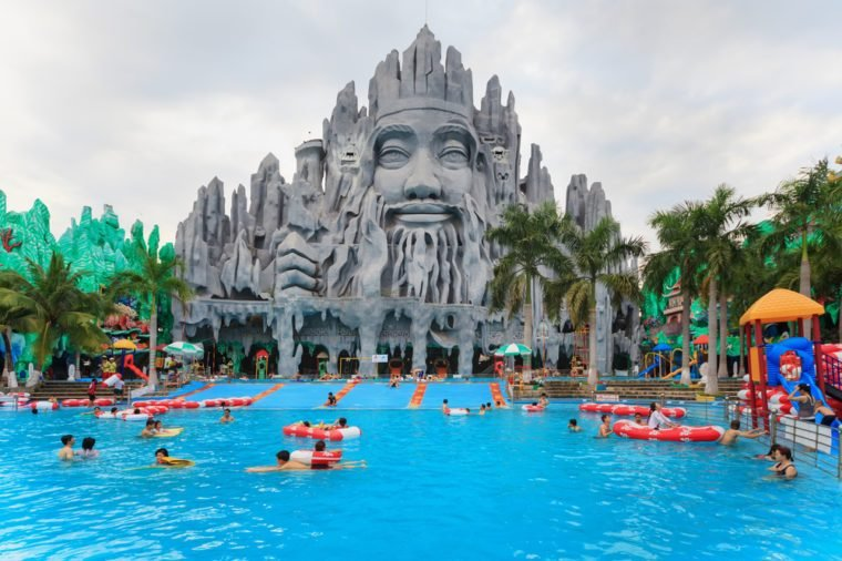 Ho Chi Minh city amusement park