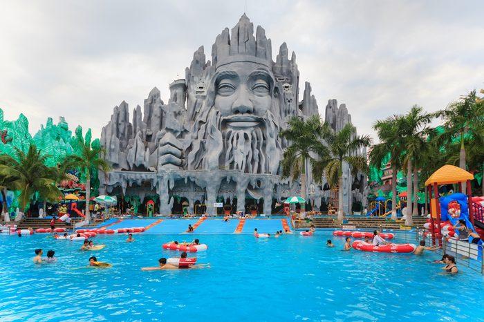 Ho Chi Minh city amusement park