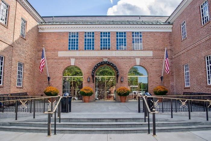 Cooperstown, NY, September, 2016, the national baseball hall of fame and museum as it opens for visitors.