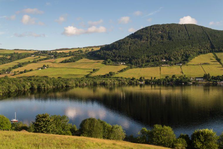 Hills and the Loch Ness, Scotland