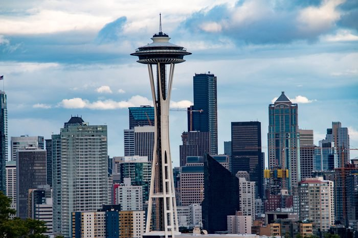 Seattle skyline as seen from Kerry Park, Washington state, United States