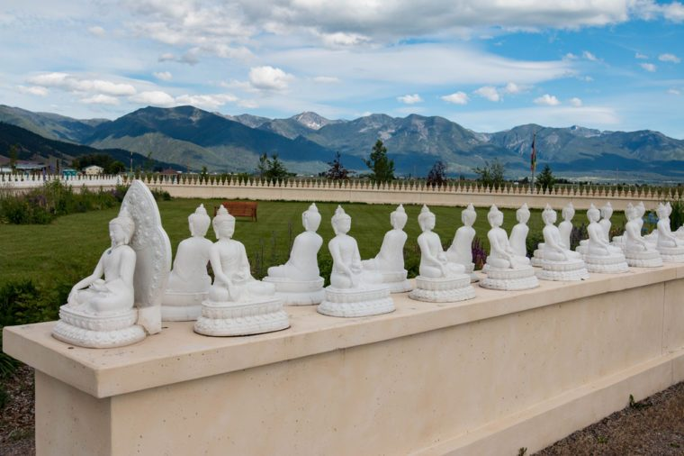 The Garden of One Thousand Buddhas in western Montana's Jocko Valley, just north of Arlee.
