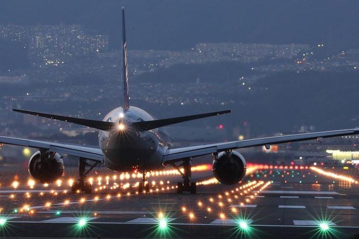 take off at night