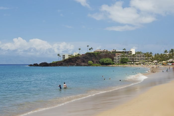 Kaanapali Beach - Black Rock - Island of Maui, Hawaii