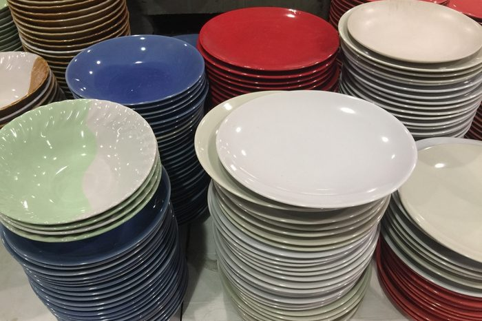 Pile of dishes For sale
