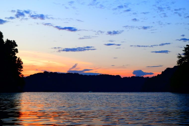 Sunset Over Lake Cumberland