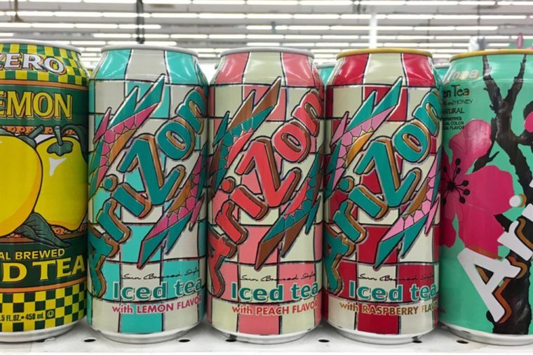 how and why arizona iced tea has stayed so cheap reader s digest