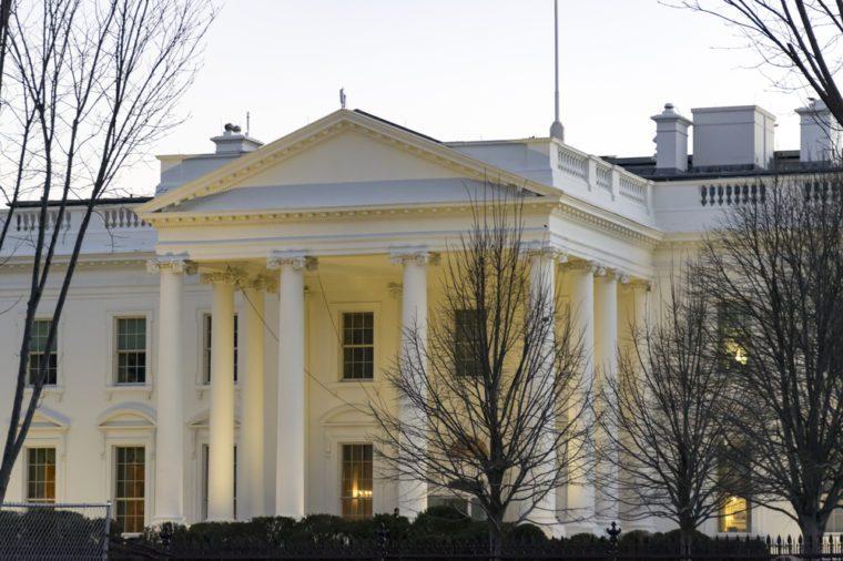 Beautiful white house